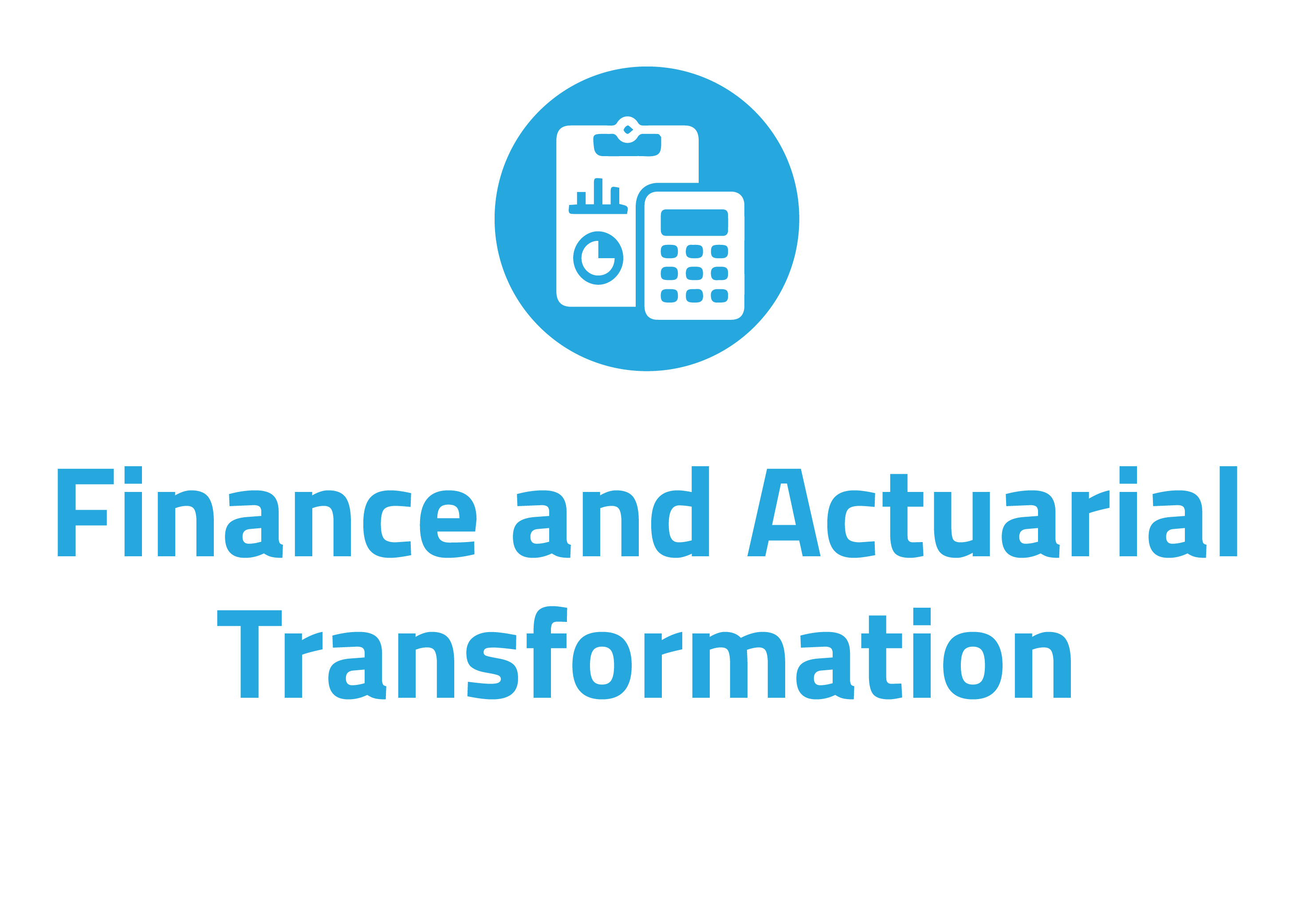 Finance and actuarial transformation consultancy for financial services industry in Ireland